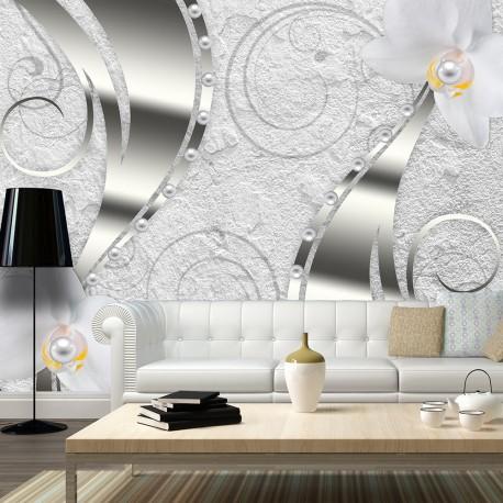 Papier peint  Flowering abstraction
