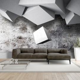 Papier peint - Geometric rain