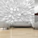 Papier peint - White dahlia
