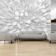 Papier peint  White dahlia
