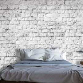 Papier peint - White brick