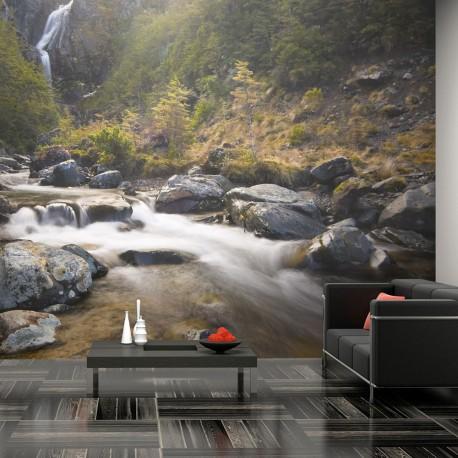 Papier peint  Ohakune  Waterfalls in New Zealand