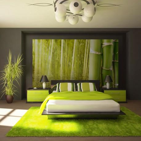 Papier peint  Ambiance exotique  bambou