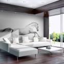 Papier peint - White gallop