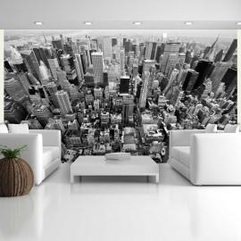 Papier peint - États-Unis, New York: noir et blanc