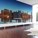 Papier peint - Skyline of New York from the water