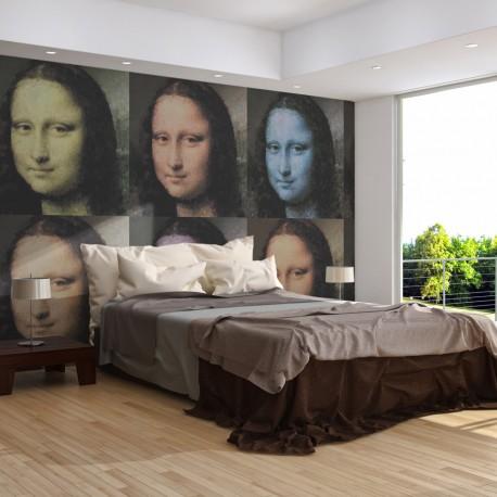Papier peint  Un mystère du sourire de Mona Lisa