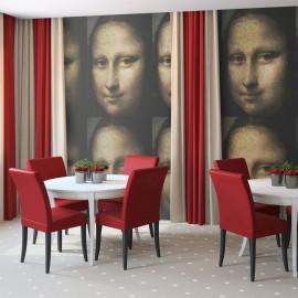 Papier peint - Portrait de Mona Lisa