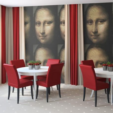 Papier peint  Portrait de Mona Lisa