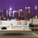 Papier peint - Arc-en-lumières : New York