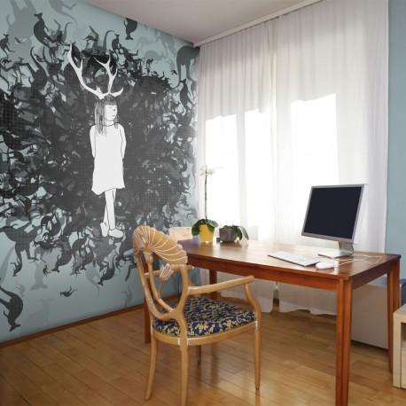 Papier peint  Reine des kangourous