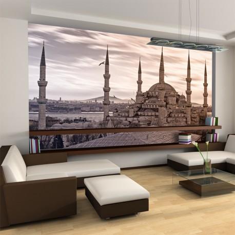 Papier peint  La Mosquée bleue, Istanbul