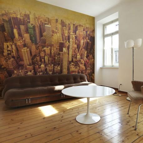 Papier peint  New York City en sépia