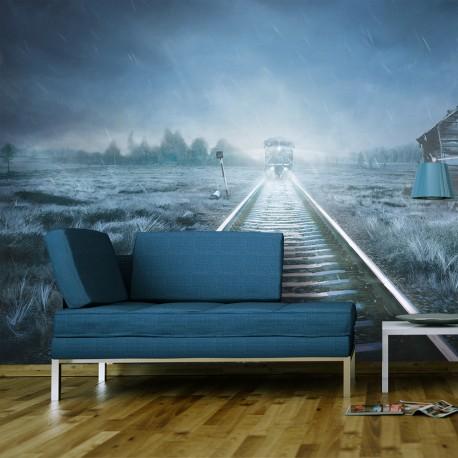 Papier peint  Le train fantôme