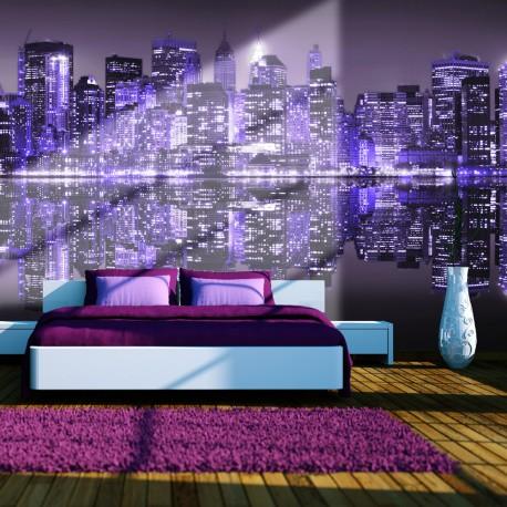 Papier peint  American violet