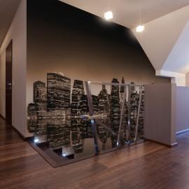 Papier peint - New York - sépia
