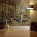 Papier peint - Parisian fountain
