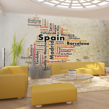 Papier peint  Colors of Spain