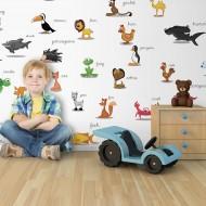 Papier peint XXL  animaux (pour enfants)