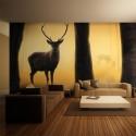 Papier peint XXL - Deer in his natural habitat