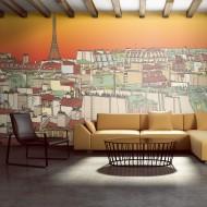 Papier peint XXL  Café du matin à Paris