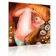 Tableau  Belle femme blonde