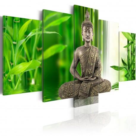 Tableau  Bouddha méditant