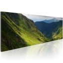 Tableau - Canvas print - In the valley of the mountain