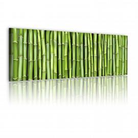 Tableau - Canvas print - Bamboo wall
