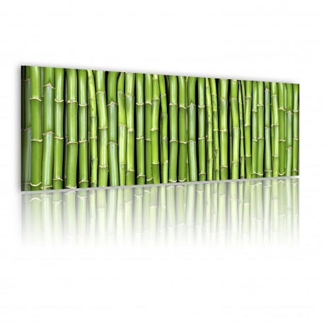 Tableau  Canvas print  Bamboo wall