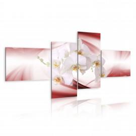Tableau - Orchidée de couleur rose