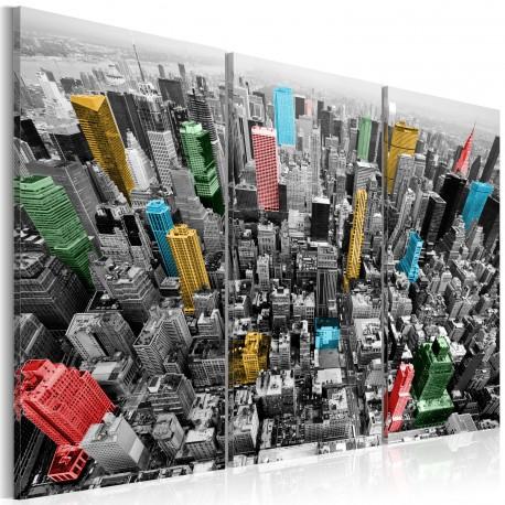 Tableau  New York  impression en CMYK