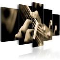 Tableau - Guitare classique