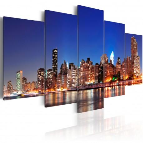 Tableau  New York en gros plan