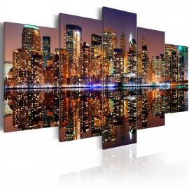 Tableau - NYC - reflet dans le miroir