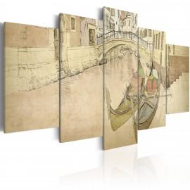 Tableau - Venise et gondoles