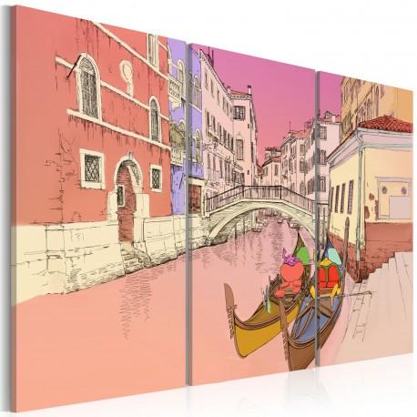 Tableau  Romantic gondolas