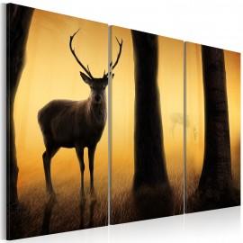 Tableau - Garde forestier