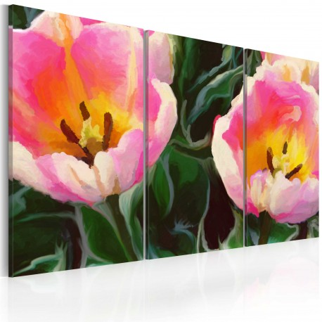 Tableau  Blooming tulips