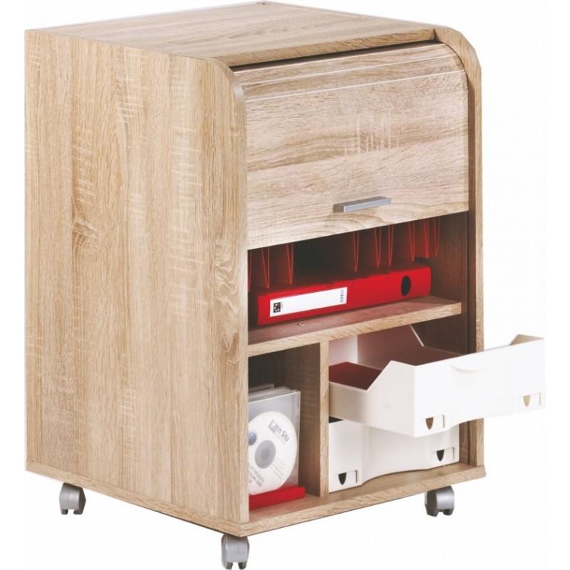 caisson de bureau ch ne naturel dossiers supendus beaux meubles pas chers. Black Bedroom Furniture Sets. Home Design Ideas