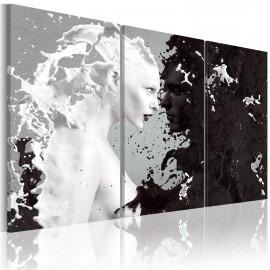 Tableau - Milk & Choco - triptych