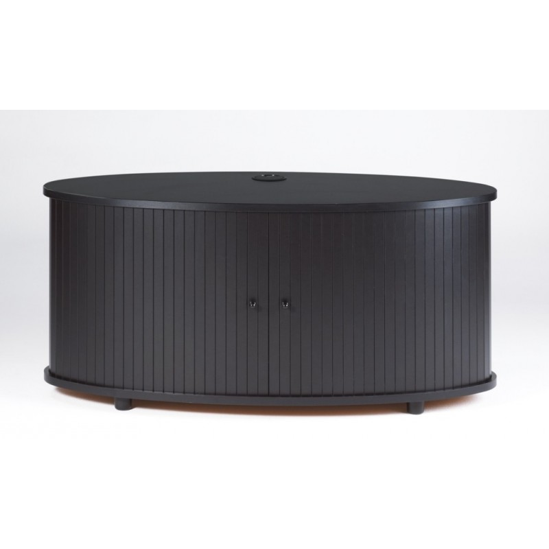 Meuble tv noir grand ecran beaux meubles pas chers for Meuble tv grand ecran