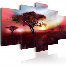 Tableau - Wild savannah