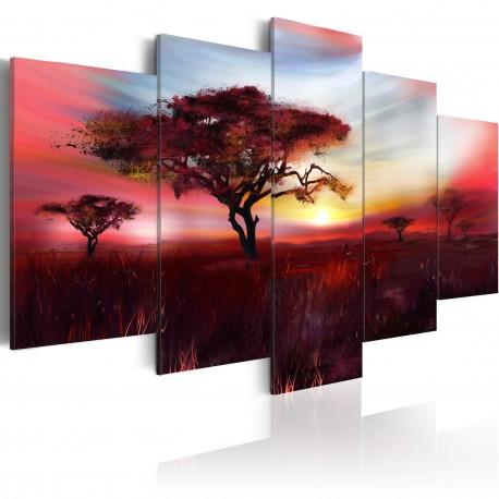 Tableau  Wild savannah