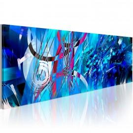 Tableau - Pluie Turquoise