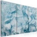 Tableau - Azalea en bleu