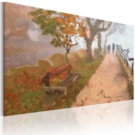 Tableau - Promenade d'automne
