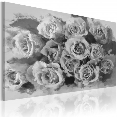 Tableau  Douze roses