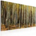 Tableau - Mystère de la Forêt de Sherwood - triptyque