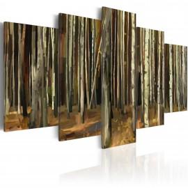 Tableau - Mystère de la Forêt de Sherwood - 5 pièces